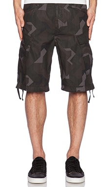 G-Star Rovic Combat G-13 Camo Bermuda in Black