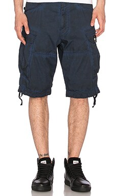 G-Star Rovic Loose Shorts in Hudson Blue & Imperial Blue