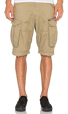 G-Star Rovic Zip Half Short in Dune