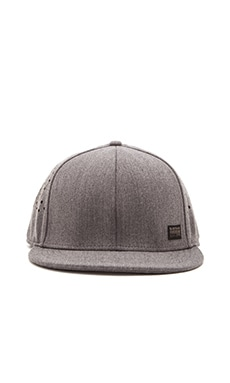G-Star Blaker Wairdon Twill Snapback in Grey Grain