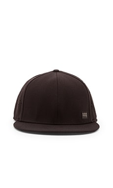 G-Star Blaker Wairdon Twill Snapback in Black