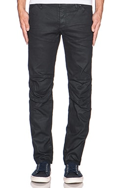 G-Star 5620 3D Low Tapered Comfort Pintt Denim Biker in 3D Dark Aged