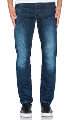 G-Star Stean Tapered Wisk Denim in Dark Aged