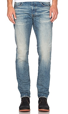 G-Star Stean Tapered Rend Denim in Dark Aged