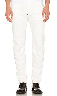 G-Star 5620 Bike Tapered Denim in Inza White
