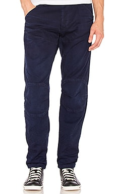 G-Star 5620 3D Tapered Trainer COJ in Sartho Blue
