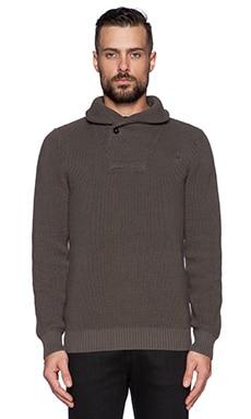 G-Star Ruzmet Turtle Sweater in Raw Grey