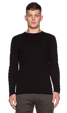 G-Star Tildo Sweater in Black