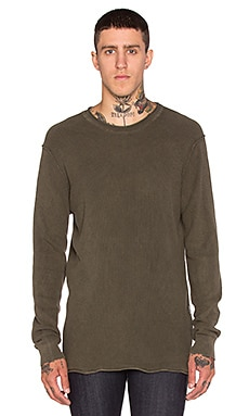 G-Star Bronek Vintage Cotton Knit in Forest Night