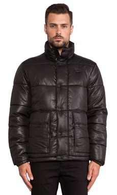 G-Star Bearing Puffer Jacket in Black