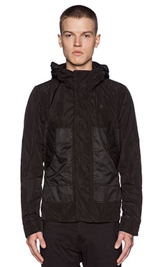 G-Star Hooded Rovic Jacket in Black