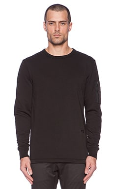 G-Star Omes Colorado Sweatshirt in Black