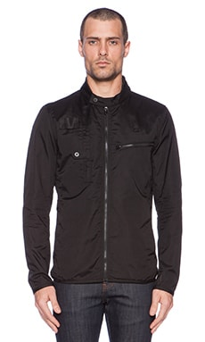 G-Star Hamzer Biker Overshirt in Black