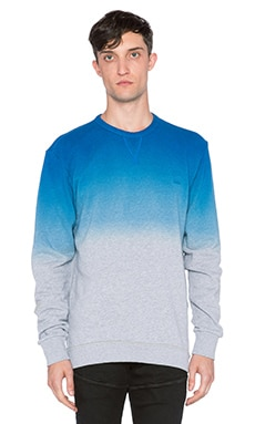 G-Star Dipped Houston Sweatshirt in Pop Blue