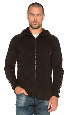G-Star Milon Hooded Vest Prime in Black