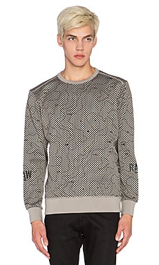 G-Star Tomeo Dot Radar Dual Sweatshirt in Mercury