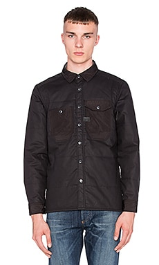 G-Star Wolker Padded Overshirt in Black
