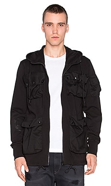 G-Star Kriyo Hooded Jacket in Black