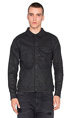 G-Star Wolker 3D Slim Jacket in 3D Dark Aged
