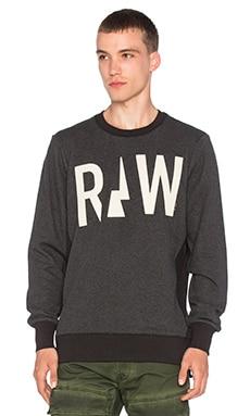 G-Star Netrol Sweatshirt in Black Heather