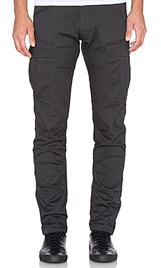G-Star Rovic Slim Micro Stretch Twill in Raven