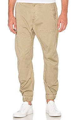 G-Star Bronson Zip Tapered Cuffed Pant in Khaki & Dune
