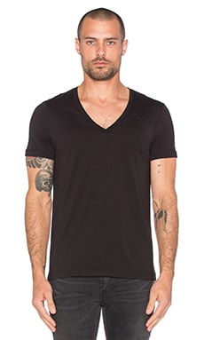 G-Star 2 Pack V-Neck Tees en Noir