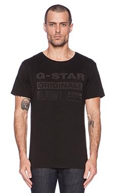 G-Star Wapro Long Tee in Black