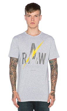 G-Star Faser NY Jersey Tee in Grey Heather