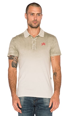 G-Star Faded Polo in Porcelain