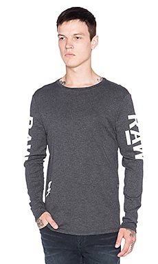 G-Star Tomeo Jisoe Tee in Black