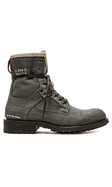 G-Star Patton V Marker Denim 25 Boot in Grey Denim