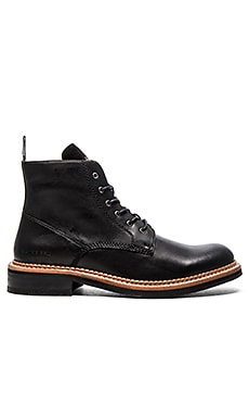 G-Star Trent Joiner II Hi in Black Leather