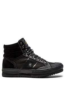 G-Star Breaker III Mckinsey en Black Leather & Textile Mono