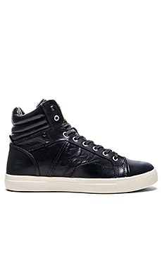 G-Star Augur III Kayvan Hi Leather in Navy Leather