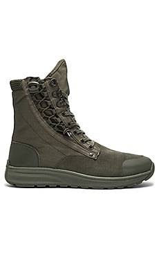 Cargo High Sneaker in Combat Military Green