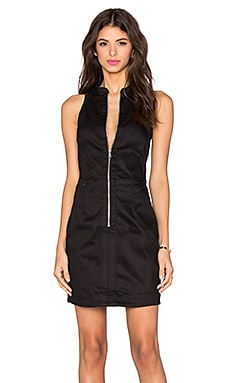 G-Star Core Slim Zip Dress in 3D Raw