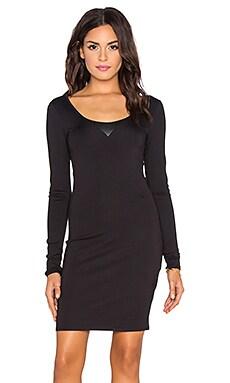 G-Star US Slim Long Sleeve Dress in Black