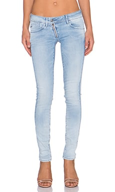 G-Star Lynn Zip Skinny in Light Aged Faded