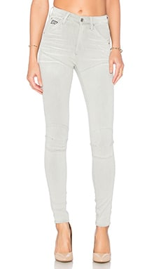 5620 Ultra High Super Skinny Jean en White Painted