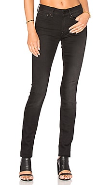 G-Star 3301 High Skinny in Dark Aged