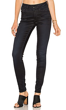 Lynn High Rise Skinny in Dark Aged