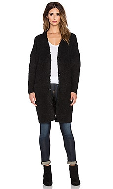 G-Star Hele Long Cardigan in Black