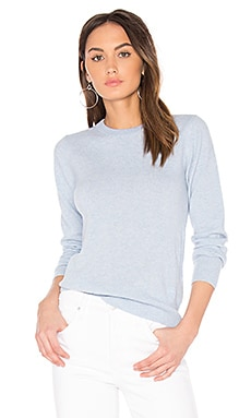 Core Long Sleeve Knit Sweater in Siali Blue Heather