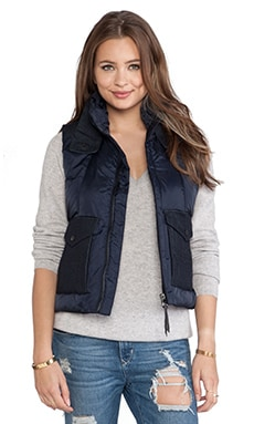 G-Star A Crotch Jetler Gilet in Mazarine Blue