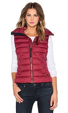 G-Star Whistler Slim Vest in Cardinal