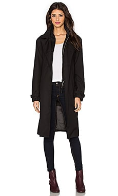 G-Star Minor Long Trench Coat in Black
