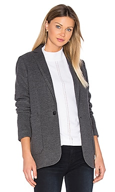 Blake Wool Blazer in Carbid Heather
