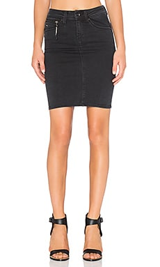 G-Star New Midge Sculpted Slim Skirt in Dark Aged