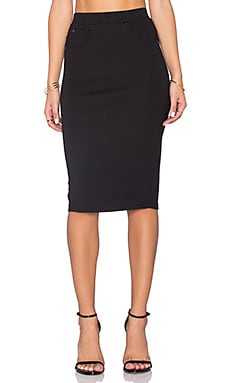 G-Star Slim 3301 Skirt in Black